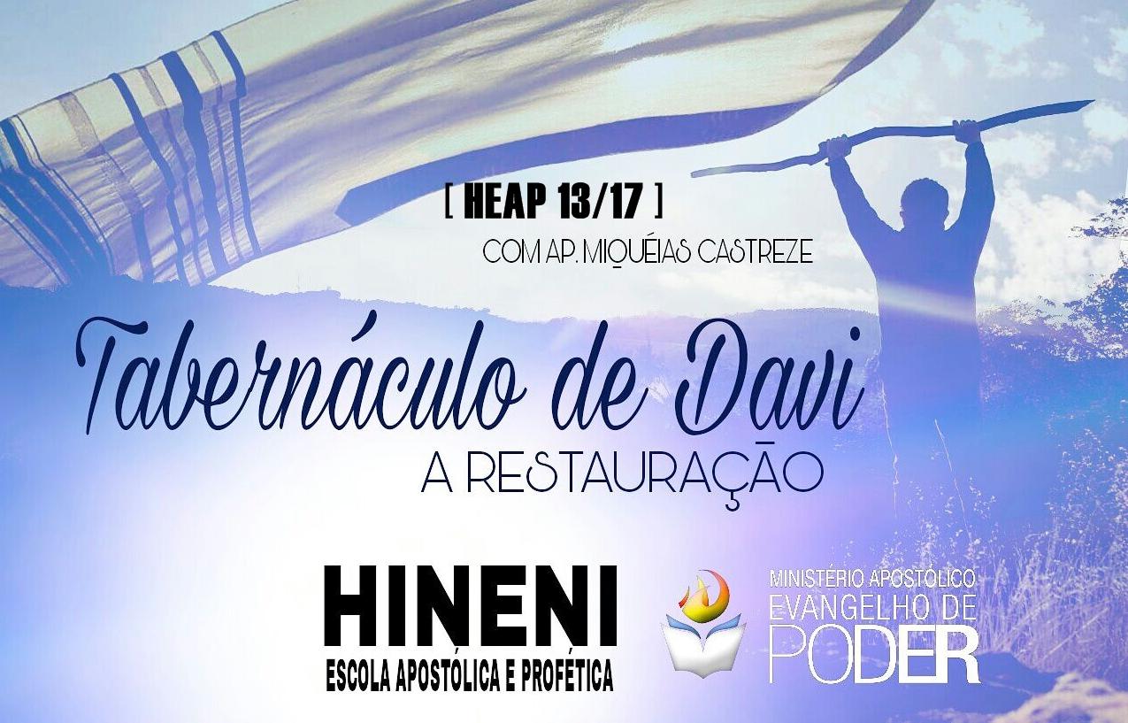 [HEAP 14/17] TABERNÁCULO DE DAVI Parte 2