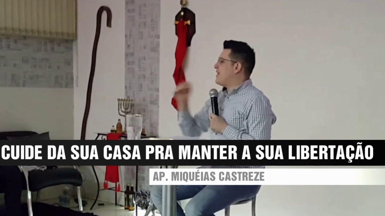 CUIDE DA SUA CASA PARA MANTER A SUA LIBERTAÇÃO