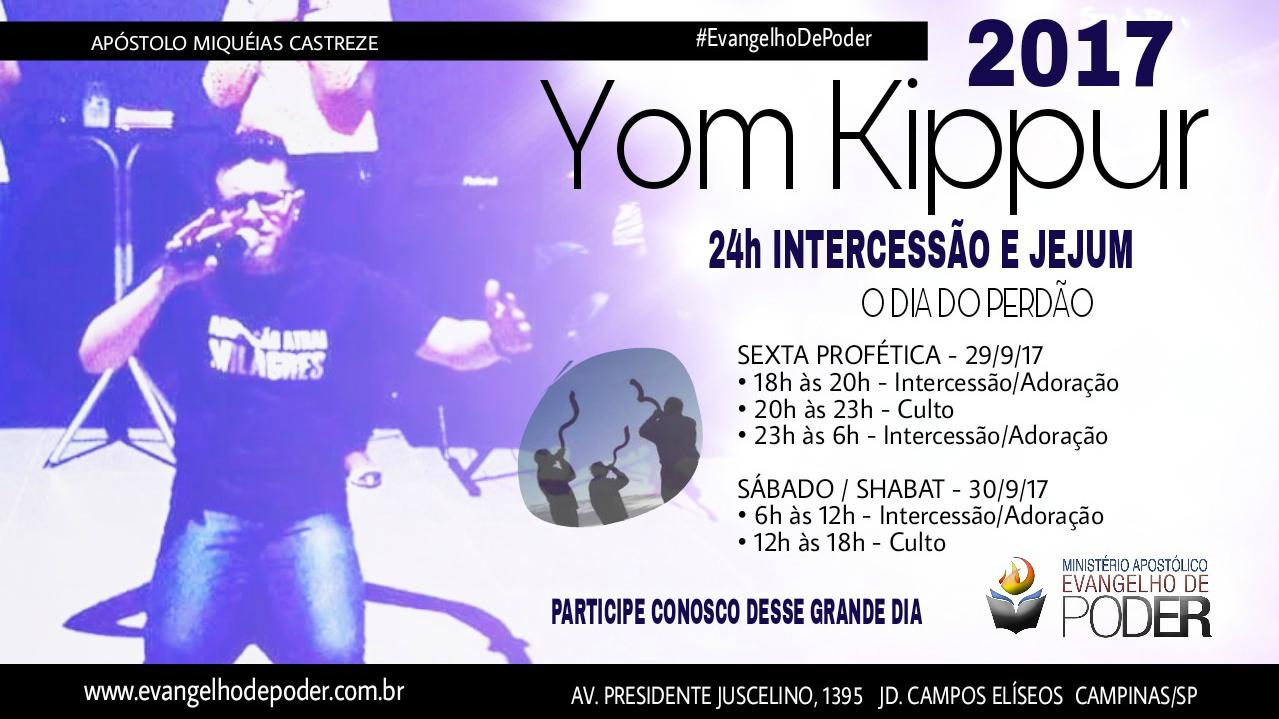 UMA HISTÓRIA DE PERDÃO - YOM KIPPUR 2017 / 5778