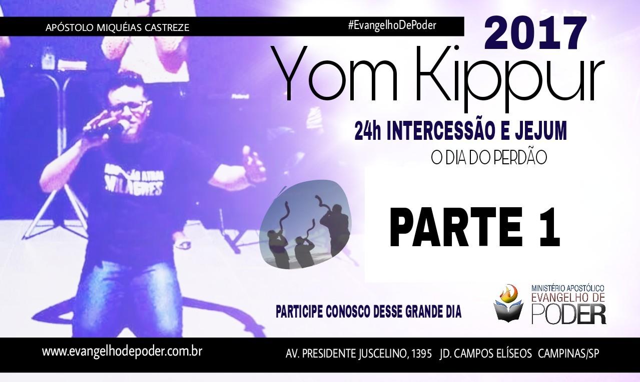 YOM KIPPUR / 24h INTERCESSÃO 1 - SET/17