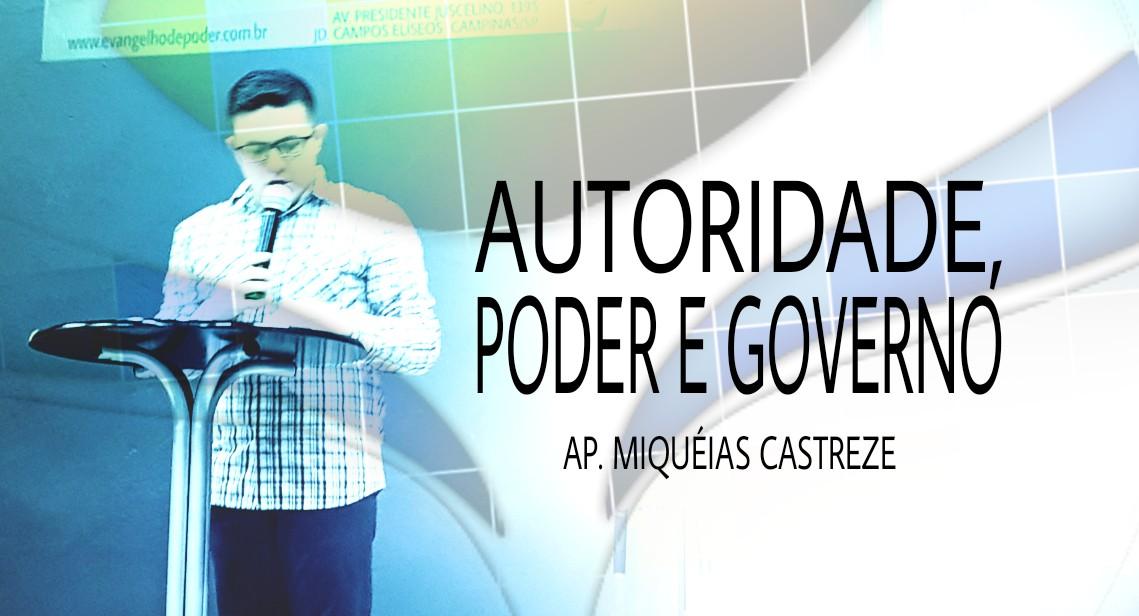 AUTORIDADE, PODER E GOVERNO