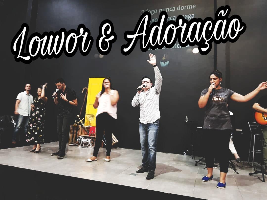 LOUVOR E ADORAÇÃO - DOMINGO APOSTÓLICO (17, Dez 2017)