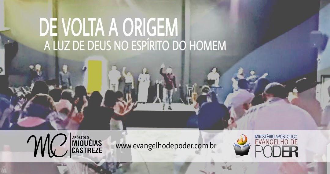 DE VOLTA A ORIGEM | A LUZ DE DEUS NO ESPÍRITO DO HOMEM