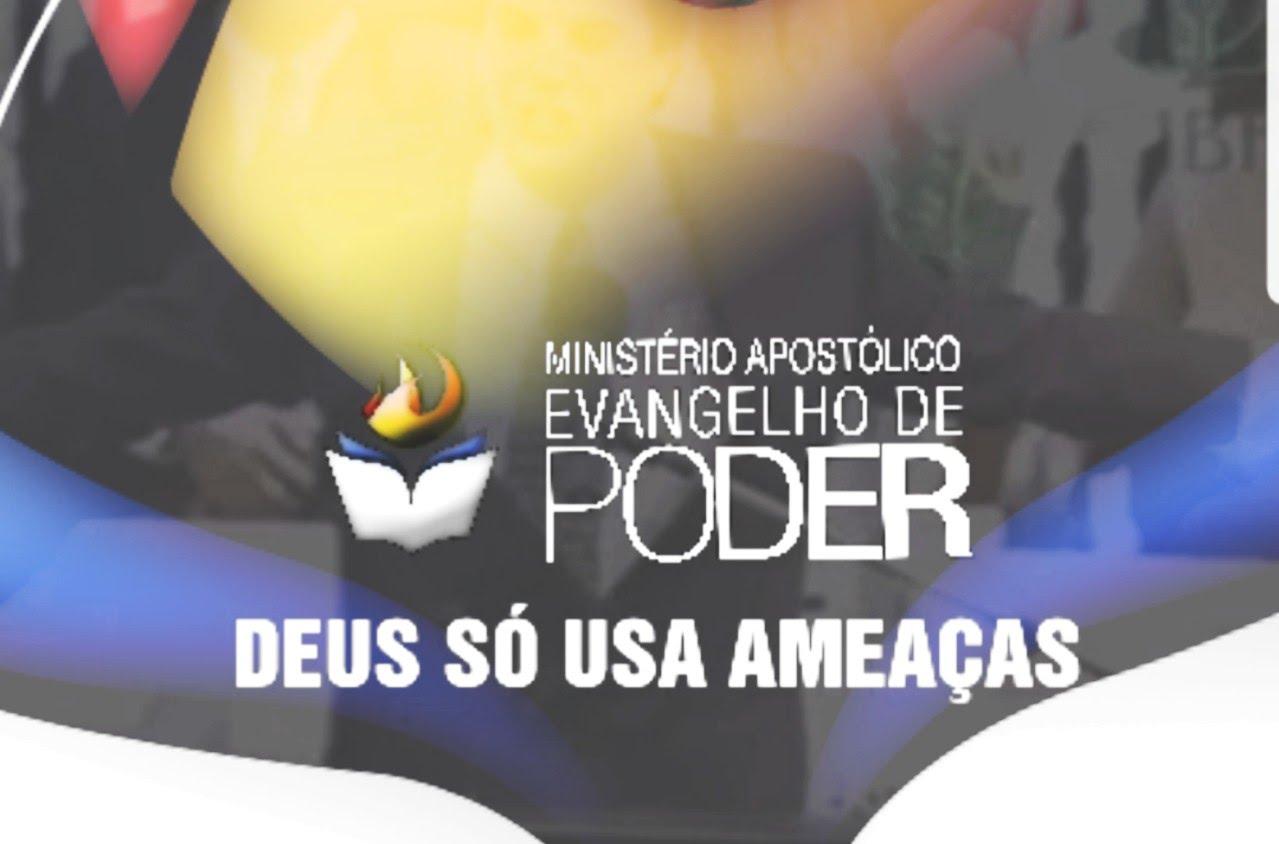 DEUS SÓ USA AMEAÇAS - JOSUÉ YRION [ DIVULGAÇÃO - EVANGELHO DE PODER ]