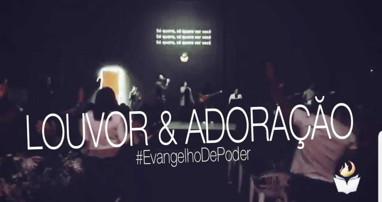 LOUVOR E ADORAÇÃO - DOMINGO APOSTÓLICO (27, MAIO 2018)