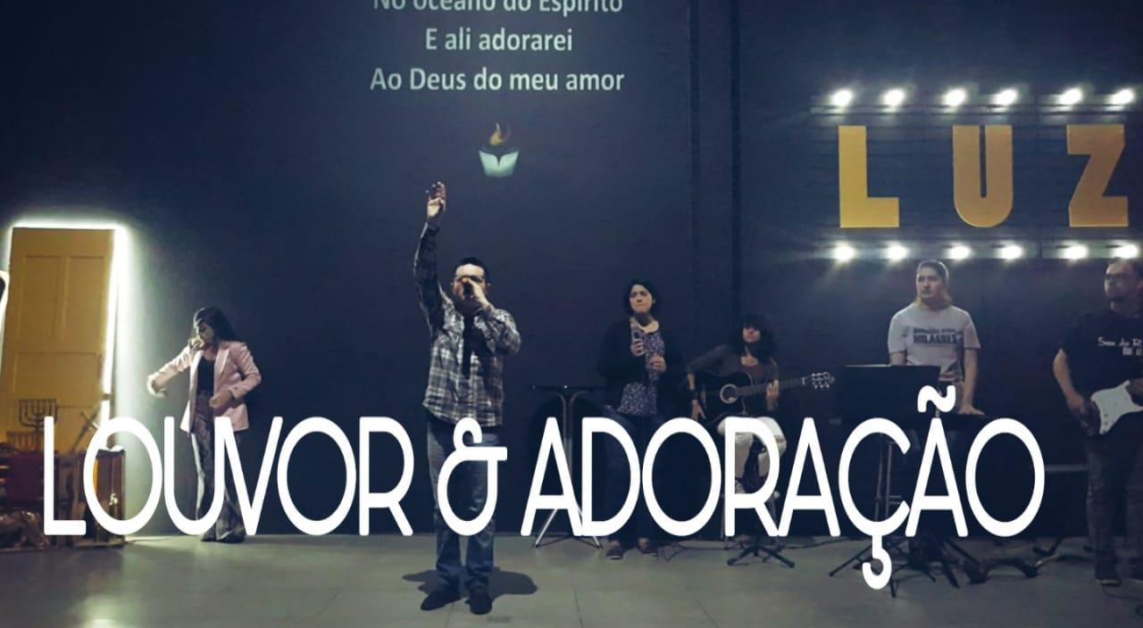 LOUVOR E ADORAÇÃO - SEXTA PROFÉTICA (24, AGOSTO 2018)