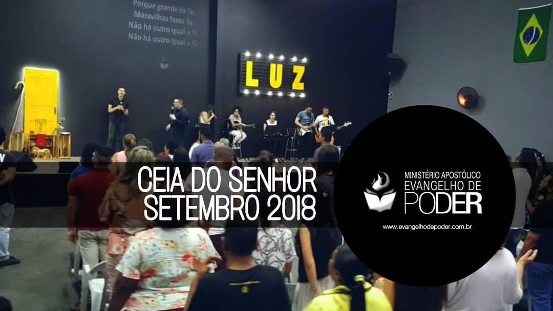 CEIA DO SENHOR - SETEMBRO 2018