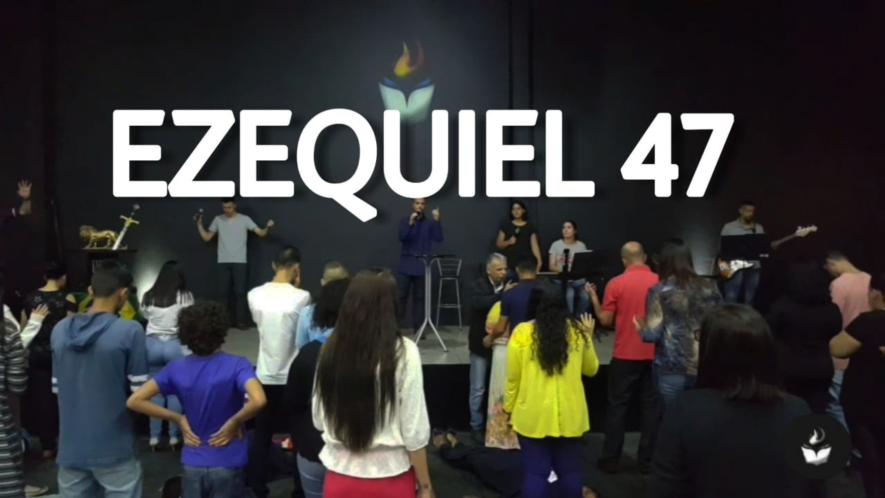 EZEQUIEL 47 (Parte 1) - PR. ANDERSON CORREIA