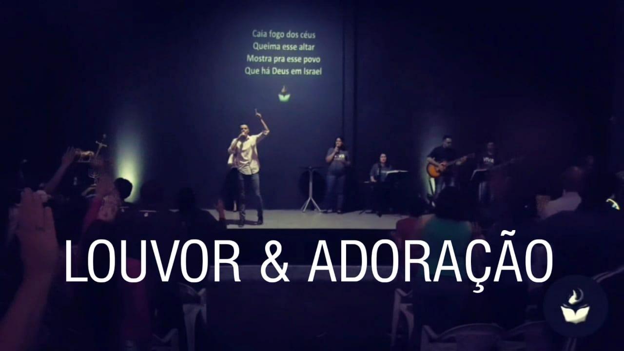LOUVOR E ADORAÇÃO - DOMINGO APOSTÓLICO (24, FEV 2019)