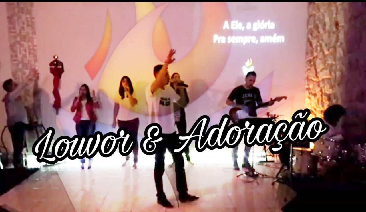 LOUVOR E ADORAÇÃO - DOMINGO APOSTÓLICO (09, Jul 2017)