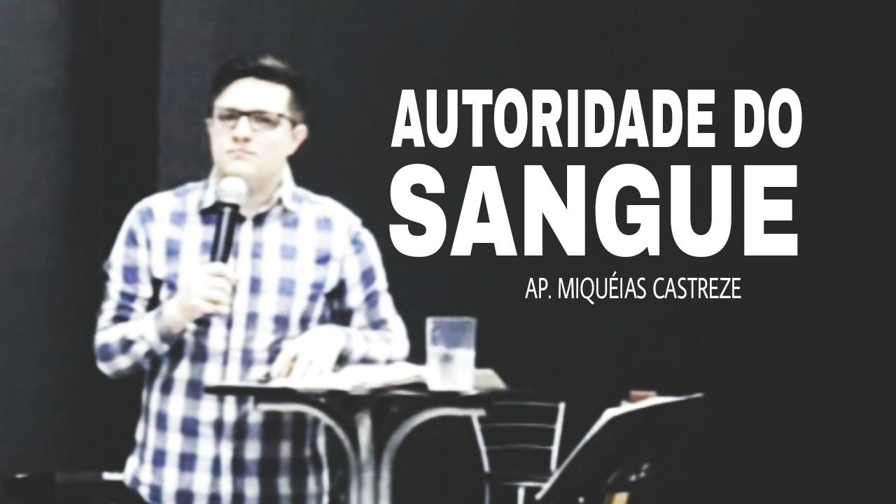 AUTORIDADE DO SANGUE DE CRISTO