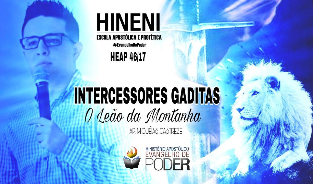 [HEAP 46/17] INTERCESSOR GADITA - O LEÃO DA MONTANHA