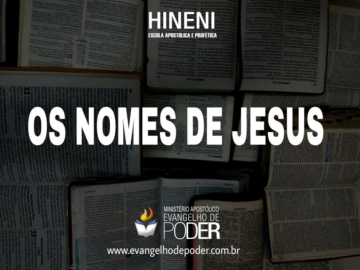 Os nomes de Jesus