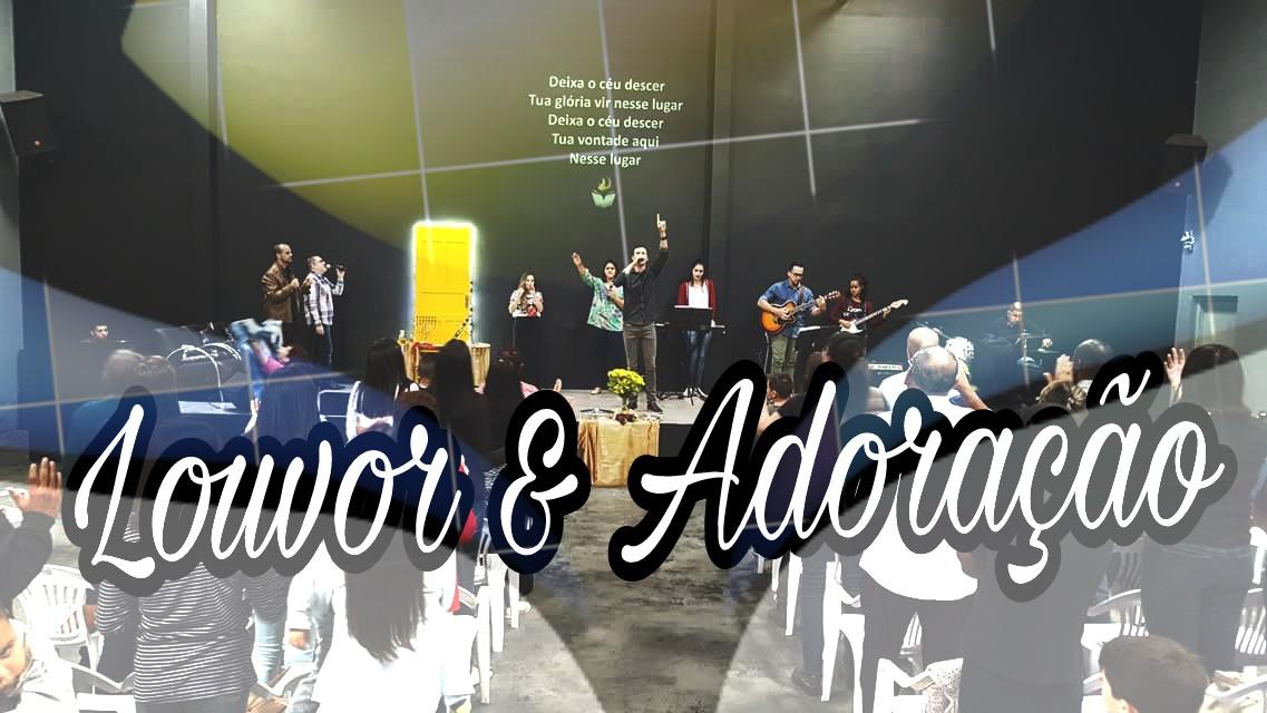LOUVOR E ADORAÇÃO - DOMINGO APOSTÓLICO (07, Jan 2017)