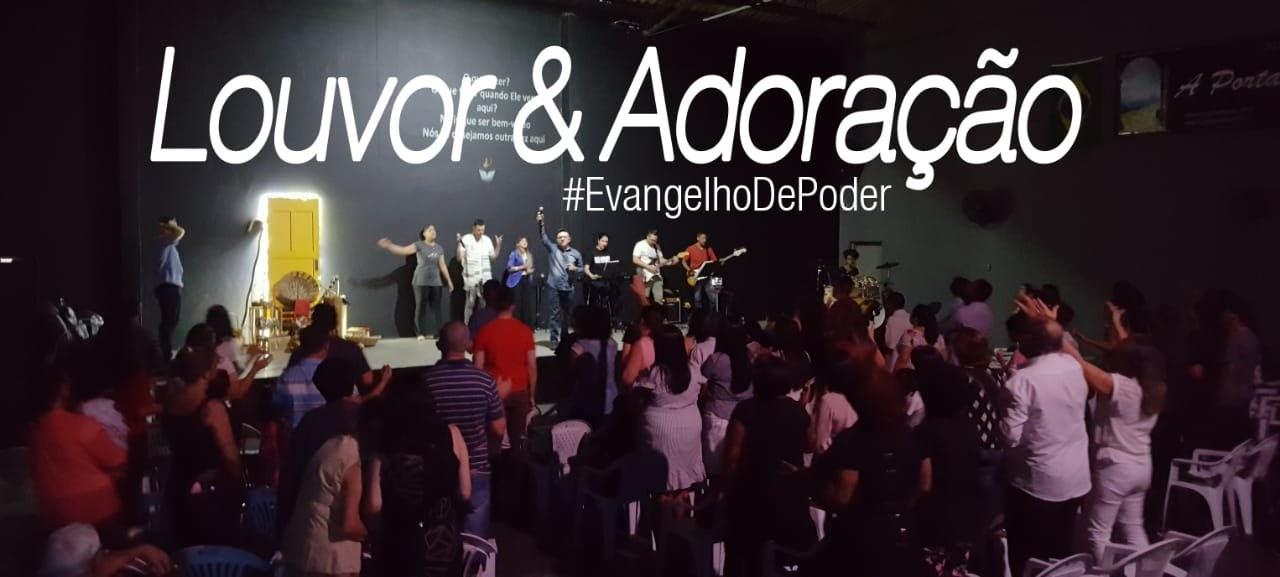 LOUVOR E ADORAÇÃO - DOMINGO APOSTÓLICO (29, Abr 2018)