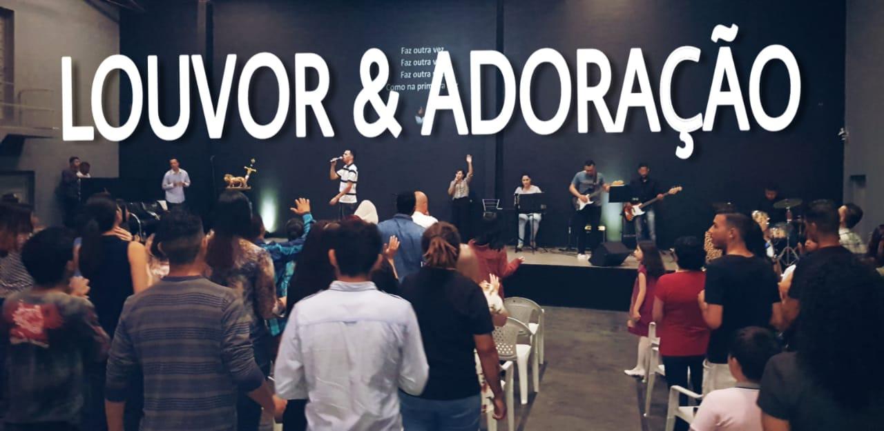 LOUVOR E ADORAÇÃO - DOMINGO APOSTÓLICO (25, NOV 2018)