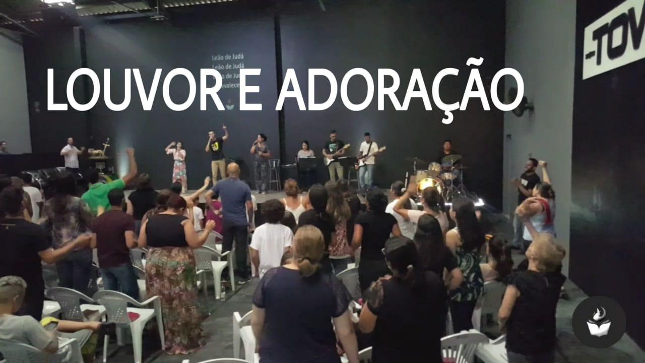 LOUVOR E ADORAÇÃO - DOMINGO APOSTÓLICO (13, JAN 2019)