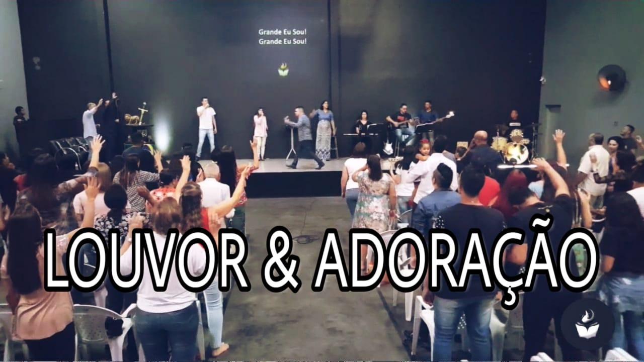 LOUVOR E ADORAÇÃO - SEXTA PROFÉTICA (25, JAN 2019)